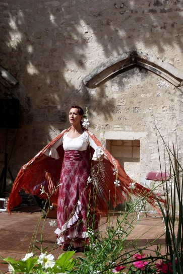 Valdepeñas - Cloître St-Léger - danseuse de Flamenco